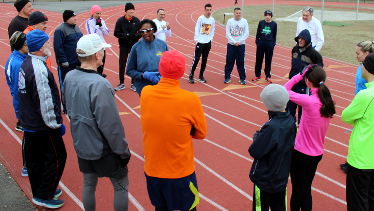 Track Tuesday with Coach Joel Pasternack