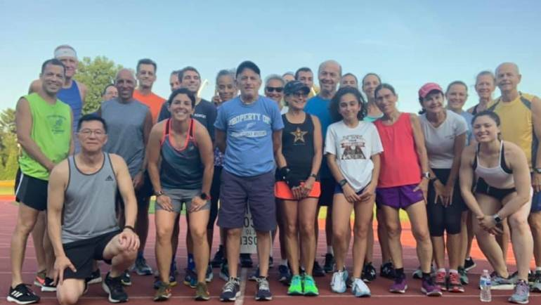 Tuesday Track Workout with Coach Joel Pasternack