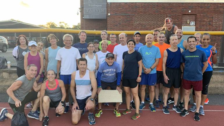 Tuesday Track with Coach Joel Pasternack