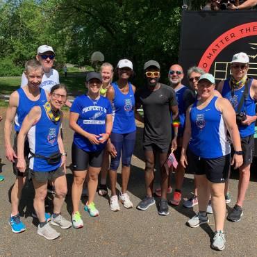 North Jersey Masters Runs with Hellah Sidibe!