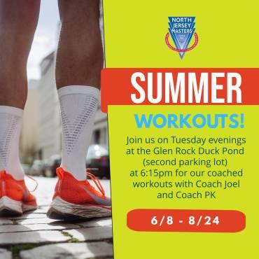 Summer Workouts!